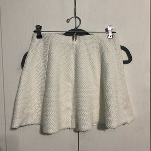Aeropostale White Circle Skirt